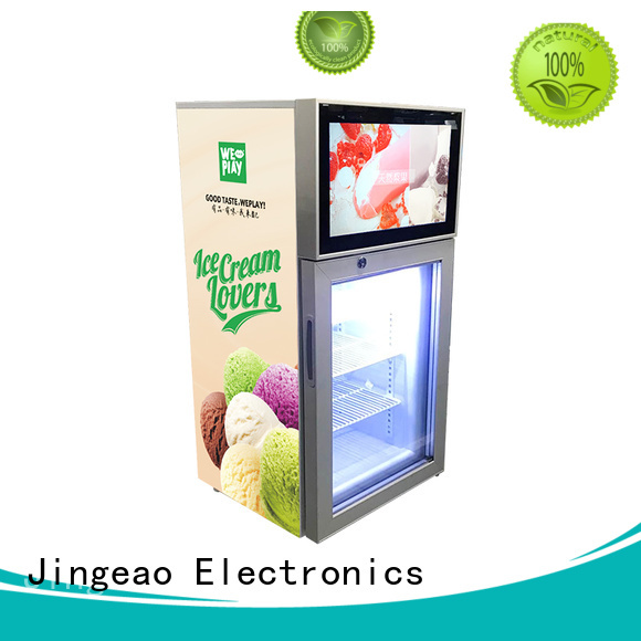 Jingeao fridge commercial freezer calibration for supermarket
