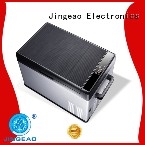 Jingeao coolest portable fridge certifications for vans