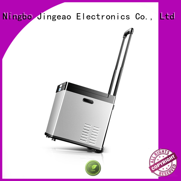 Jingeao small portable refrigerator car for vans