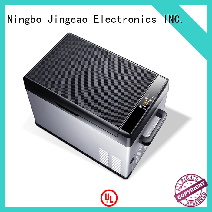 Jingeao compressor portable car fridge freezer for-sale for vans