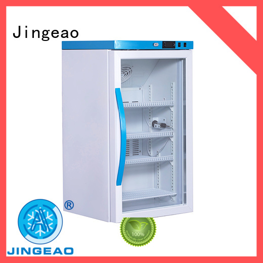 Jingeao fridge testing for pharmacy