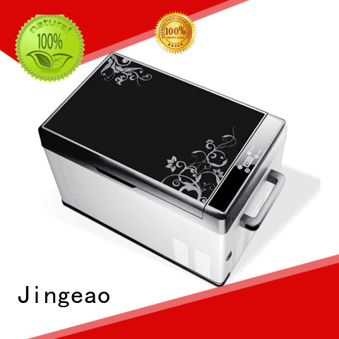 Jingeao small car fridge freezer marketing for car