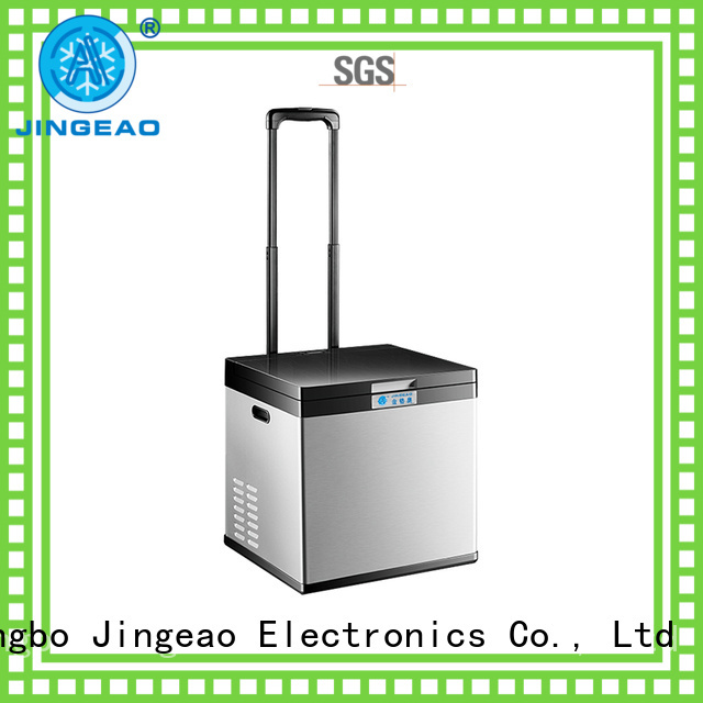 Jingeao fridge vehicle refrigerator certifications for vans