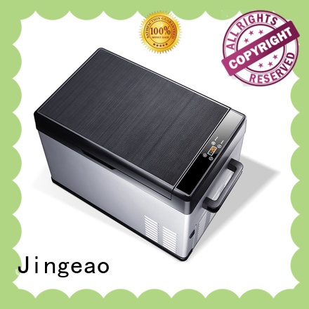 Jingeao camping refrigerator improvement for car