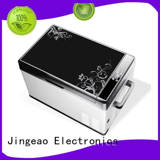 Jingeao automatic car fridge freezer workshops for vans