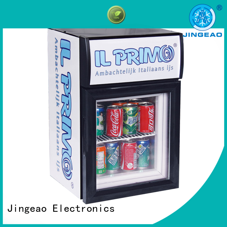 Jingeao high-reputation commercial beverage cooler management for restaurant