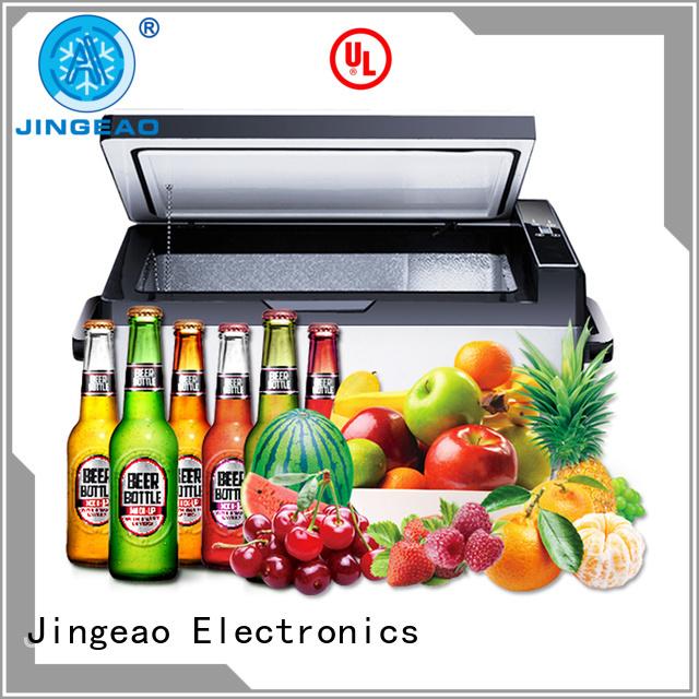 Jingeao portable car freezer price certifications for vans