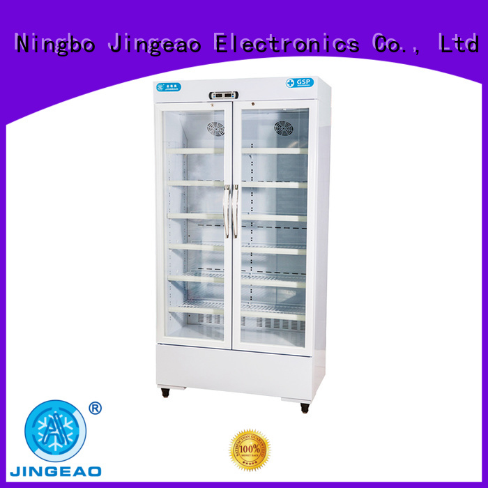 Jingeao fashion design pharmaceutical fridge temperature for pharmacy