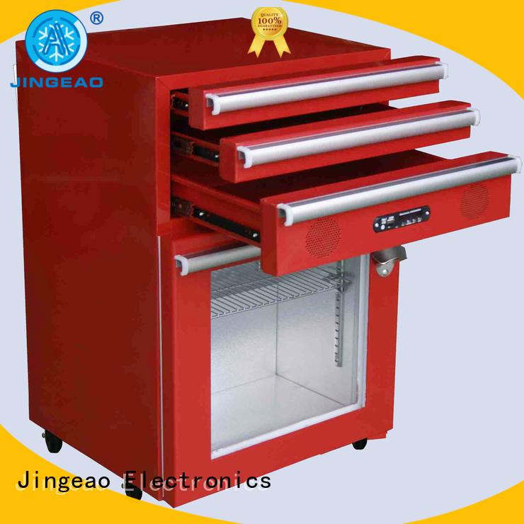Jingeao door tool box refrigerator for bar