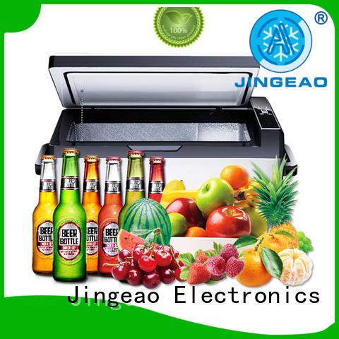 Jingeao fridge auto coolers 12 volt protection for vans
