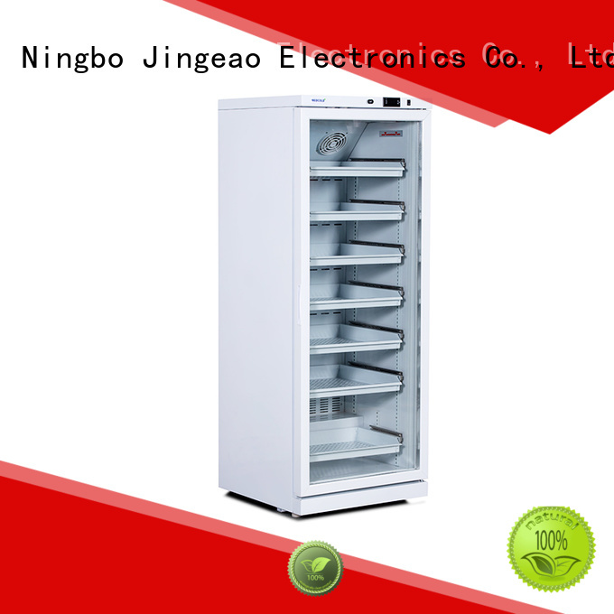 Jingeao fashion design medical refrigerator price fridge for pharmacy