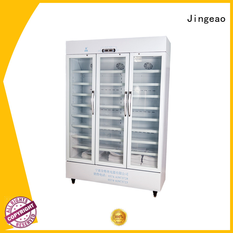 Jingeao medical pharmaceutical refrigerator manufacturers for drugstore