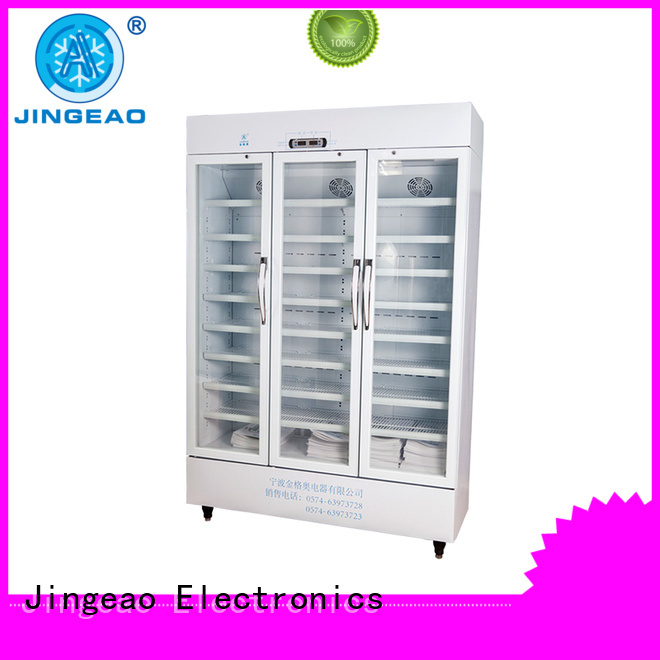 fridge lockable medicine fridge liters for pharmacy Jingeao