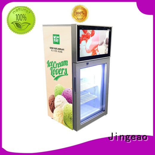 high-reputation video fridge fridge containerization for resturant