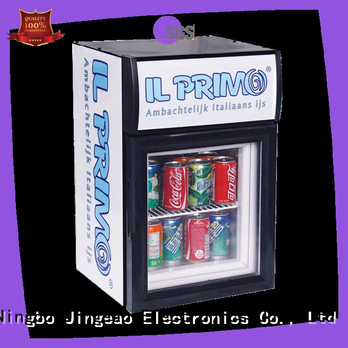 Jingeao fabulous display freezer protection for restaurant