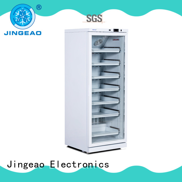 Jingeao medical refrigerator with lock manufacturers for pharmacy