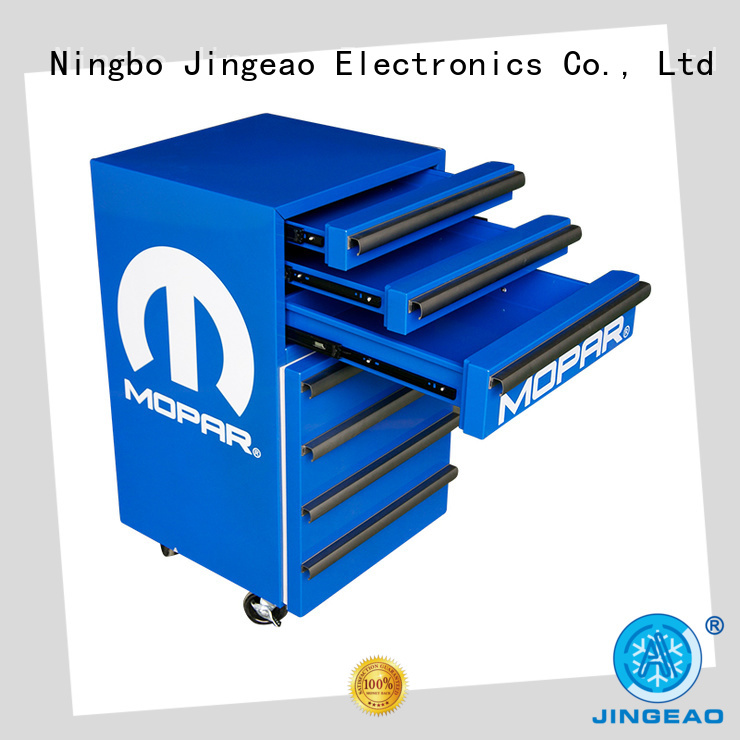 Jingeao accurate toolbox cooler marketing for supermarket
