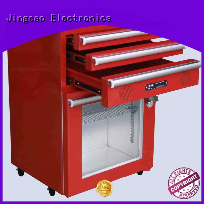 Jingeao fridge mini beverage fridge export