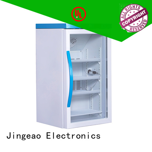 Jingeao fashion design medical refrigerator owner for drugstore