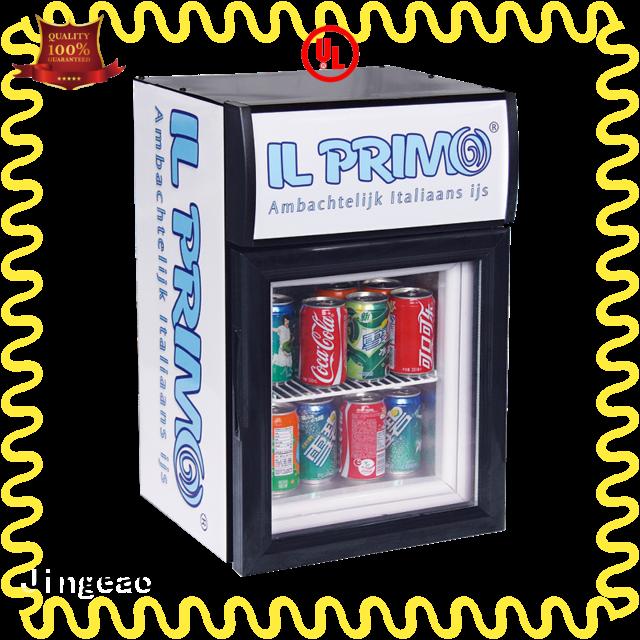 Jingeao cool commercial drinks fridge certifications for store