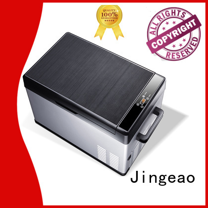 Jingeao portable car fridge freezer certifications for vans