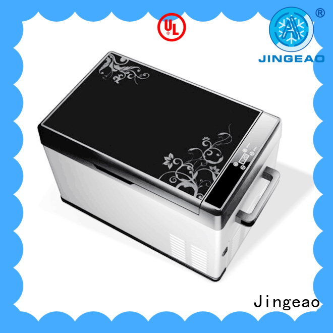 Jingeao automatic car refrigerator sensing for vans