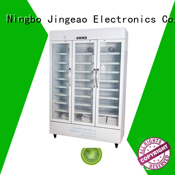 Jingeao medical medical fridge price development for pharmacy