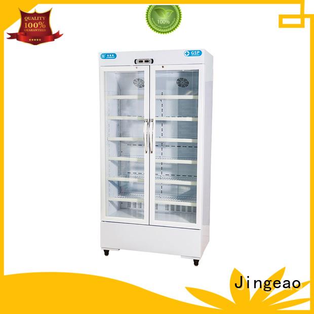 Jingeao accurate pharmaceutical fridge temperature for drugstore
