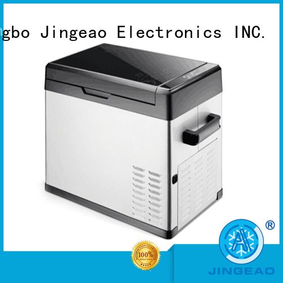 Jingeao good looking 12v portable refrigerator sensing for vans