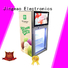 Jingeao reliable lcd screen fridge viedo for supermarket