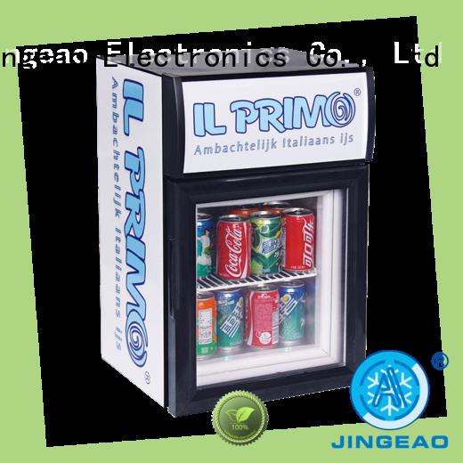 Jingeao superb glass front fridge management for restaurant