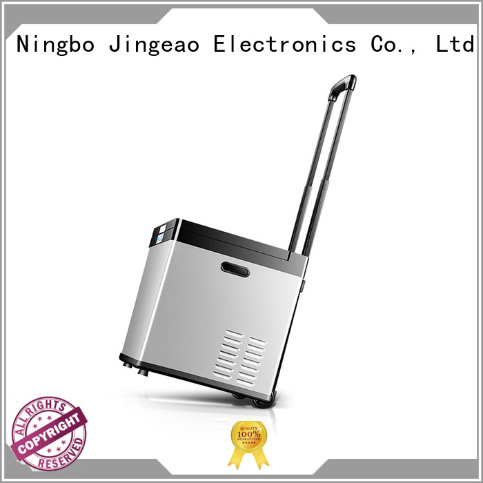 Jingeao elegant vehicle refrigerator sensing for car