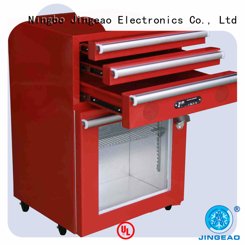 Jingeao drawers toolbox cooler marketing for store