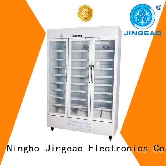 Jingeao pharmacy fridge testing for hospital