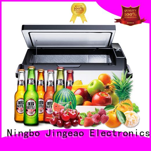 Jingeao portable car refrigerator sensing for vans