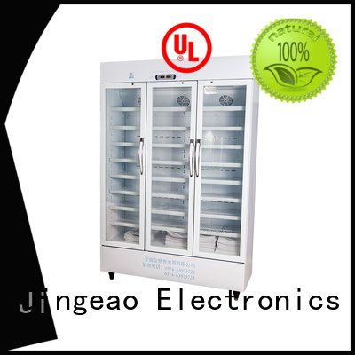 Jingeao efficient refrigerator with lock manufacturers for pharmacy