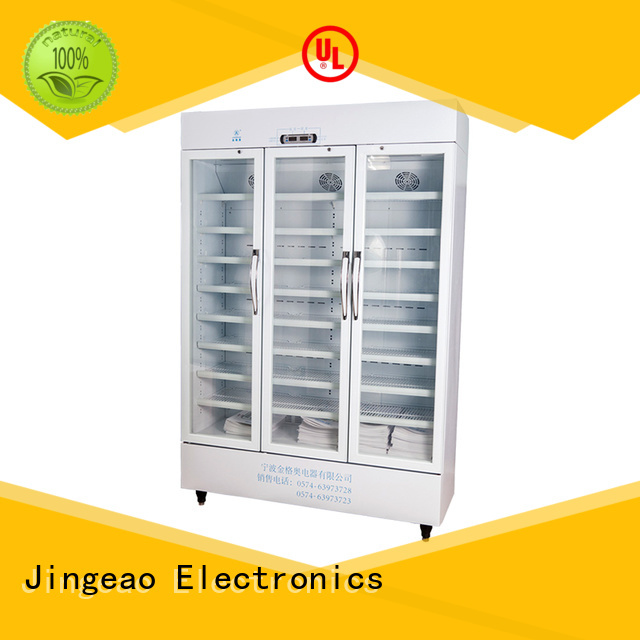 Jingeao fashion design pharmacy refrigerator owner for pharmacy