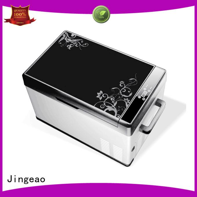 Jingeao compressor travel fridge environmentally friendly for vans