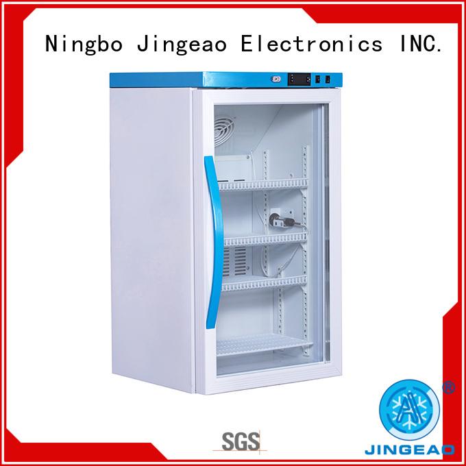 Jingeao medical lockable medical fridge supplier for hospital