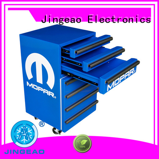 Jingeao glass toolbox fridge buy now for hotel