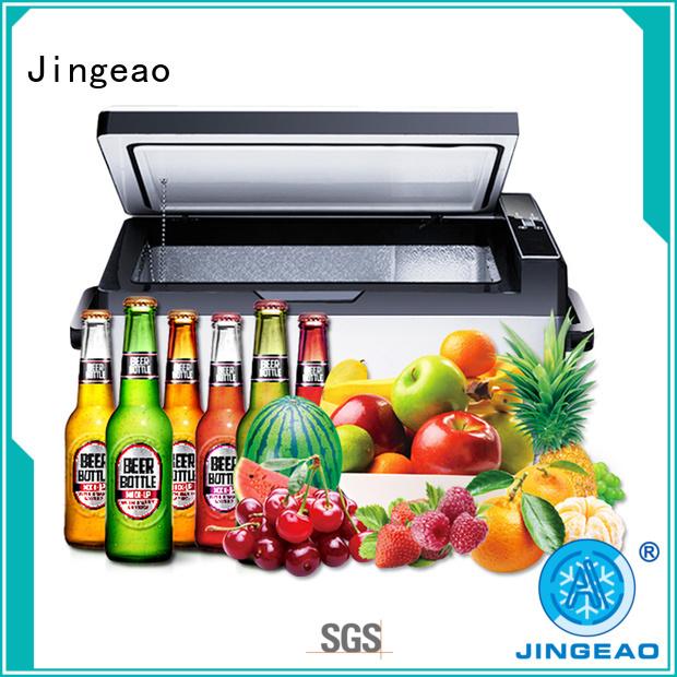Jingeao coolest travel fridge workshops for car