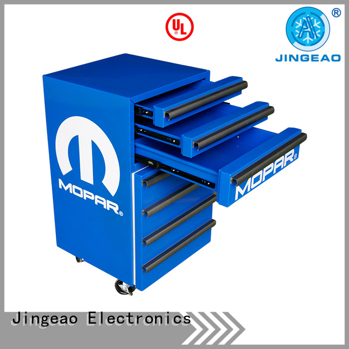 Jingeao glass toolbox fridge efficiently for store