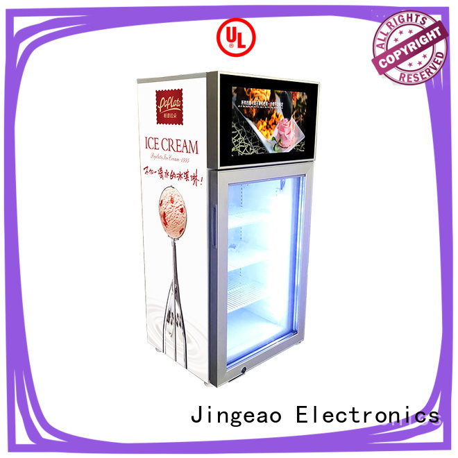 Jingeao fridge commercial freezer anticipation for shopping mall