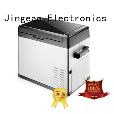 Jingeao fridge 12v refrigerator freezer environmentally friendly for car