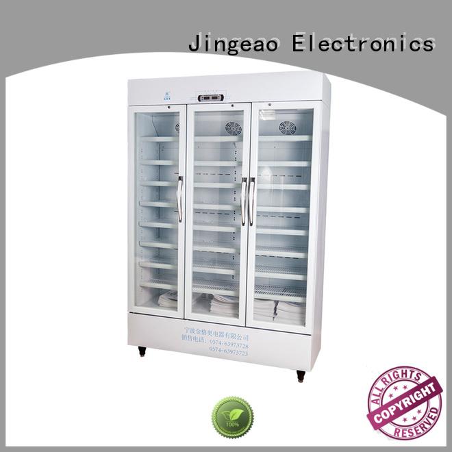 Jingeao high quality pharmacy refrigerator supplier for pharmacy