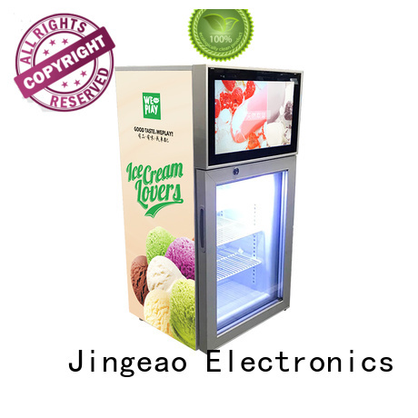 Jingeao receptional commercial freezer anticipation for shopping mall