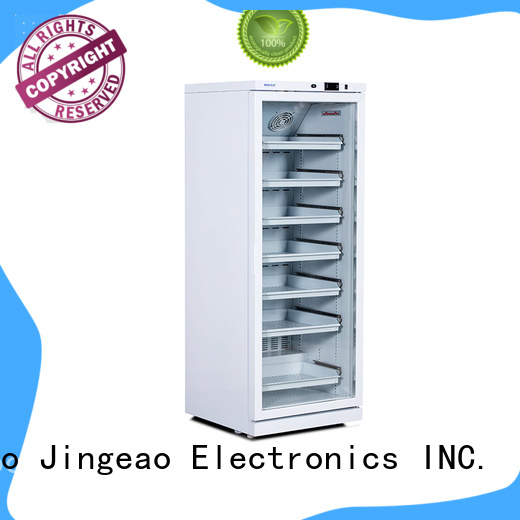 Jingeao liters medical refrigerator owner for pharmacy