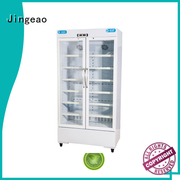Jingeao pharmaceutical refrigerator supplier for hospital