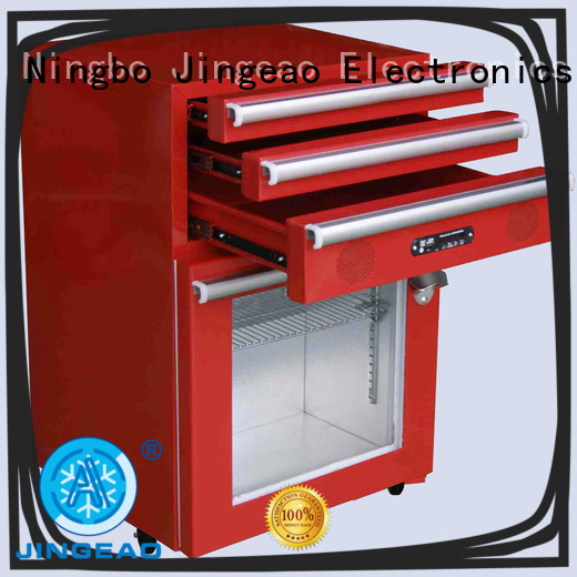 Jingeao high quality commercial display fridges efficiently for wine