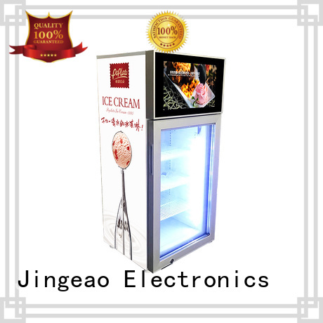 Jingeao viedo commercial freezer solutions for hotel